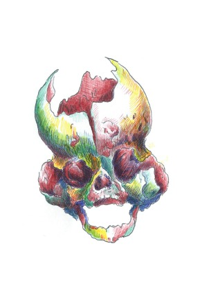 Cloverleaf-skull